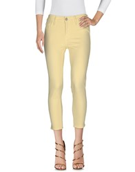 Black Orchid Jeans Yellow