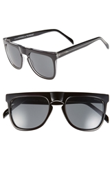 Komono 'The Bennet' 54Mm Sunglasses Black Transparent