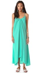 One By Pink Stitch Resort Maxi Dress Aqua
