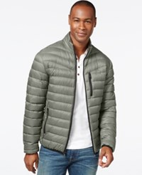 Inc International Concepts Solid Down Packable Jacket Only At Macy's Silver