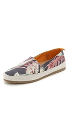 Mulo X Hentsch Man Slip On Shoes Dark Floral