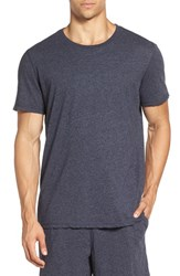 Daniel Buchler Men's Recycled Cotton Blend T Shirt Ink