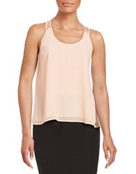 Guess Crepe Tank Top Peach