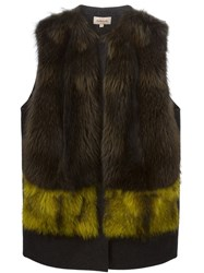 P.A.R.O.S.H. 'Quistarx' Gilet Yellow And Orange