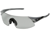 Tifosi Optics Podium Xc Fototec Light Night Silver Gunmetal Athletic Performance Sport Sunglasses