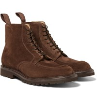 Cheaney Richmond Ii Split Toe Suede Boots Brown