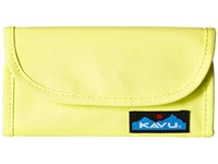 Kavu Big Spender Highlighter Wallet Handbags Yellow