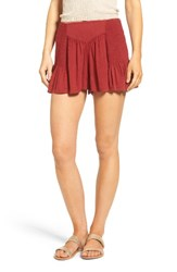 Sun And Shadow Women's Smocked Shorts