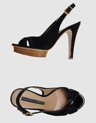 Francesco Morichetti Platform Sandals