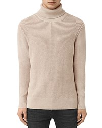 Allsaints Rothay Funnel Neck Sweater Taupe Marl