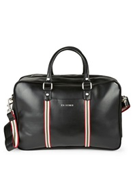 Ben Sherman Iconic Faux Leather Brief Case Coal