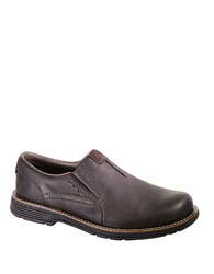 Merrell Realm Leather Moc Loafers Brown
