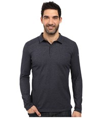 Arc'teryx Captive Long Sleeve Polo Admiral Men's Long Sleeve Pullover Navy