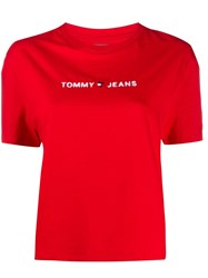 Tommy Jeans Cropped Logo T Shirt 60