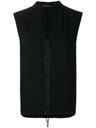 Transit Sleeveless Blousje Black