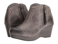 Dansko Veronica Stone Distressed Women's Boots Brown
