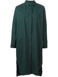 Odeeh Shirt Dress Green