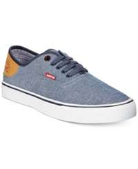Levi's Jordy Chambray Sneakers Men's Shoes Navy Chambray