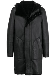 Yves Salomon Long Hooded Coat 60