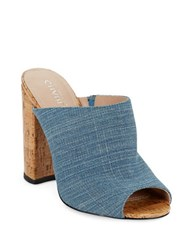 Charles By Charles David Gansevoort Mules Denim Blue