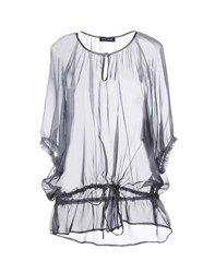 Diana Gallesi Shirts Blouses Women Grey