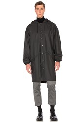 Rains Loose Fit Jacket Black