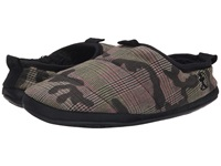 Bedroom Athletics Eastwood Green Check Camo Men's Slippers Brown