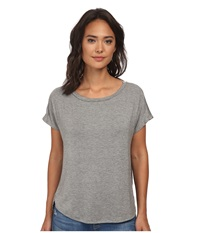 Culture Phit Karyn Short Sleeve Comfy Top Heather Grey Women's Clothing Gray