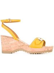 Stella Mccartney Linda Sandals Yellow Orange