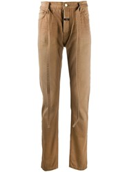 Fear Of God Straight Leg Trousers Brown