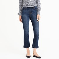 J.Crew Petite Billie Demi Boot Crop Jean In Brookdale Wash