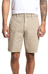 Joe's Jeans Brixton Trim Fit Straight Leg Shorts Crew Khaki