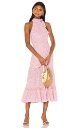 Likely Mona Dress In Pink. Pink Multi
