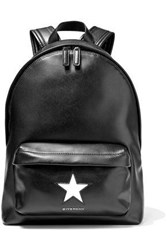 Givenchy Woman Mini Star Leather Backpack Black
