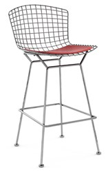 Knoll Bertoia Barstool With Seat Pad