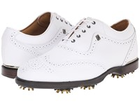 Footjoy Icon Black White Men's Golf Shoes