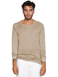 Diesel Fine Linen Blend Knit Sweater