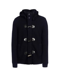 Edward Spiers Cardigans Dark Blue
