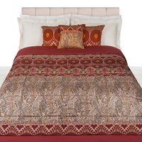 Etro Bustan Quilted Bedspread 270X270 Red