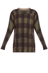Preen Line West Sweater Printed Lambswool