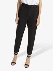 French Connection Whisper Ruth Tapered Trousers Black
