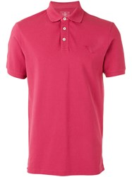 Hackett Classic Polo Top Men Cotton Spandex Elastane M Red