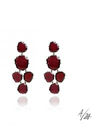 Annoushka Shard Chandelier Earring Red