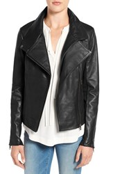 Sam Edelman Women's Leather Moto Jacket