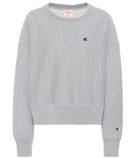 Champion Cotton Sweatshirt Grey