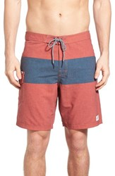 Katin Men's 'Plank' Board Shorts Red