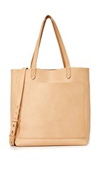Madewell Medium Transport Tote Linen