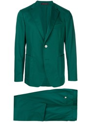 The Gigi Relaxed Fit Two Piece Suit Green