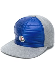 Moncler Padded Front Cap Grey