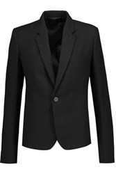 Rick Owens Cotton Canvas Blazer Black